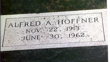 HOFFNER, ALFRED A. - Cedar County, Iowa   ALFRED A. HOFFNER