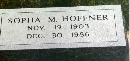 HOFFNER, SOPHA M. - Cedar County, Iowa | SOPHA M. HOFFNER