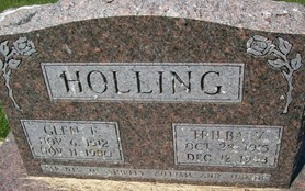 HOLLING, TRILBA Y. - Cedar County, Iowa | TRILBA Y. HOLLING