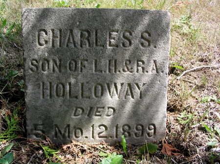 HOLLOWAY, CHARLES S. - Cedar County, Iowa | CHARLES S. HOLLOWAY