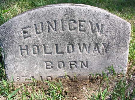 HOLLOWAY, EUNICE W. - Cedar County, Iowa | EUNICE W. HOLLOWAY