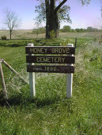 HONEY GROVE, CEMETERY - Cedar County, Iowa | CEMETERY HONEY GROVE