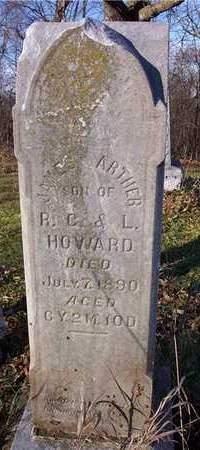 HOWARD, JAMES ARTHUR - Cedar County, Iowa | JAMES ARTHUR HOWARD