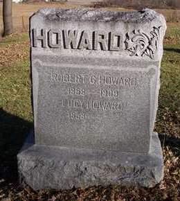 HOWARD, ROBERT GOWER - Cedar County, Iowa   ROBERT GOWER HOWARD