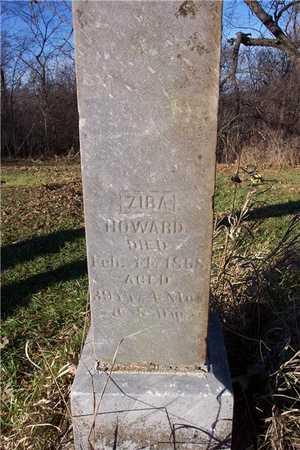 HOWARD, ZIBA - Cedar County, Iowa | ZIBA HOWARD