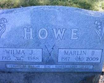 HOWE, MARLIN B. - Cedar County, Iowa | MARLIN B. HOWE