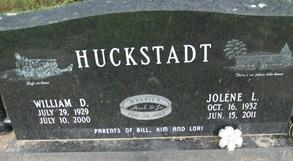 HUCKSTADT, WILLIAM D.