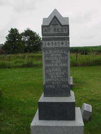 JACK, O. C. - Cedar County, Iowa   O. C. JACK