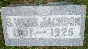 JACKSON, S. WEBB - Cedar County, Iowa | S. WEBB JACKSON