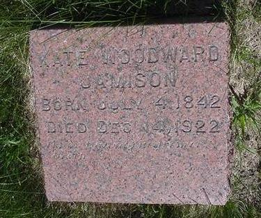 JAMISON, KATE - Cedar County, Iowa | KATE JAMISON