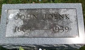 JOENK, JOHN - Cedar County, Iowa | JOHN JOENK