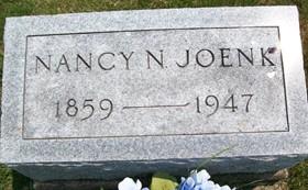 JOENK, NANCY N. - Cedar County, Iowa   NANCY N. JOENK