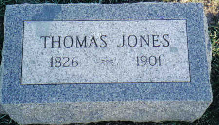 JONES, THOMAS TAYLOR - Cedar County, Iowa | THOMAS TAYLOR JONES