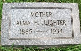 JUCHTER, ALMA H. - Cedar County, Iowa | ALMA H. JUCHTER
