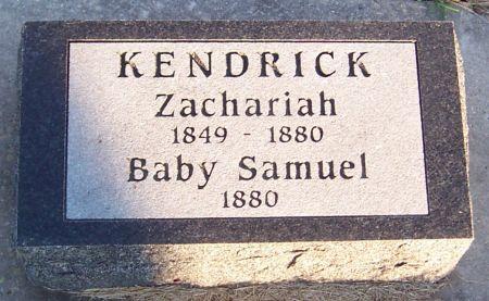 KENDRICK, SAMUEL - Cedar County, Iowa | SAMUEL KENDRICK
