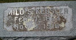 KESSLER, MILO S. - Cedar County, Iowa | MILO S. KESSLER