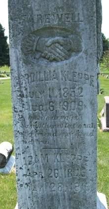 KLEPPE, ADAM - Cedar County, Iowa | ADAM KLEPPE