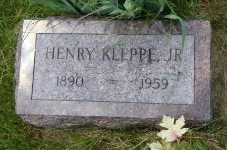 KLEPPE, HENRY JR - Cedar County, Iowa | HENRY JR KLEPPE
