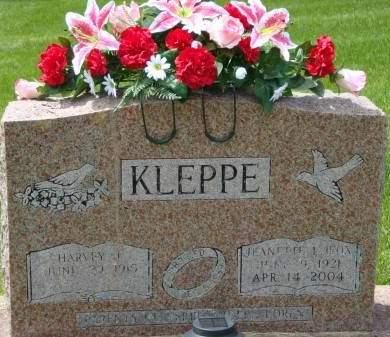 FOX KLEPPE, JEANETTE - Cedar County, Iowa | JEANETTE FOX KLEPPE