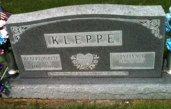 KLEPPE, HUBERT H.