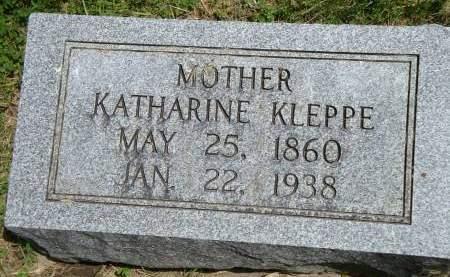 PETER KLEPPE, KATHARINE - Cedar County, Iowa | KATHARINE PETER KLEPPE