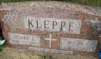 KLEPPE, SYLVAN E. - Cedar County, Iowa   SYLVAN E. KLEPPE