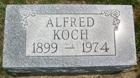 KOCH, ALFRED - Cedar County, Iowa | ALFRED KOCH