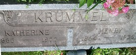 KRUMMEL, KATHERINE - Cedar County, Iowa | KATHERINE KRUMMEL