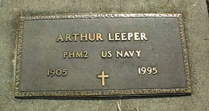 LEEPER, ARTHUR - Cedar County, Iowa | ARTHUR LEEPER
