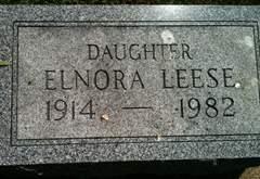 LEESE, ELNORA - Cedar County, Iowa | ELNORA LEESE