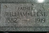 LEESE, WILLIAM - Cedar County, Iowa | WILLIAM LEESE