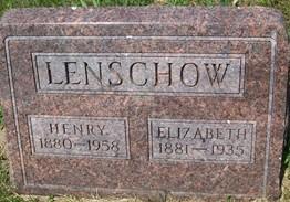 LENSCHOW, HENRY - Cedar County, Iowa | HENRY LENSCHOW