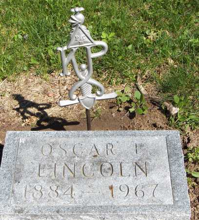 LINCOLN, OSCAR E. - Cedar County, Iowa | OSCAR E. LINCOLN