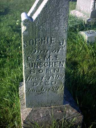 LUNSCHEN, SOPHIE J. - Cedar County, Iowa | SOPHIE J. LUNSCHEN
