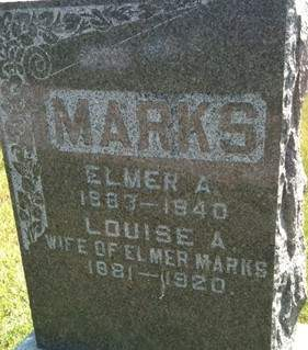 MARKS, LOUISE A. - Cedar County, Iowa | LOUISE A. MARKS