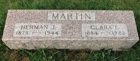 MARTIN, HERMAN JULIUS - Cedar County, Iowa | HERMAN JULIUS MARTIN