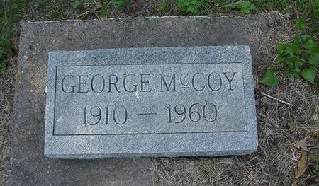 MCCOY, GEORGE - Cedar County, Iowa | GEORGE MCCOY