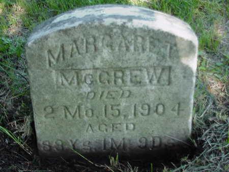 MCGREW, MARGARET - Cedar County, Iowa | MARGARET MCGREW