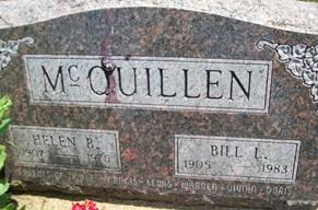 MCQUILLEN, HELEN B. - Cedar County, Iowa | HELEN B. MCQUILLEN