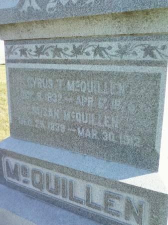 MCQUILLEN, SUSAN - Cedar County, Iowa | SUSAN MCQUILLEN
