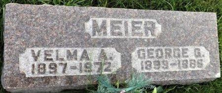 MEIER, VELMA ANNA - Cedar County, Iowa | VELMA ANNA MEIER