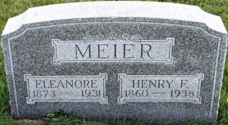 MEIER, ELEANORE - Cedar County, Iowa | ELEANORE MEIER