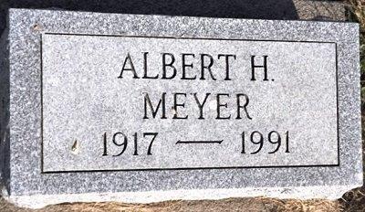 MEYER, ALBERT HENRY - Cedar County, Iowa | ALBERT HENRY MEYER