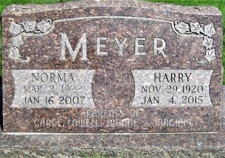 MEYER, NORMA MARIE E. - Cedar County, Iowa | NORMA MARIE E. MEYER