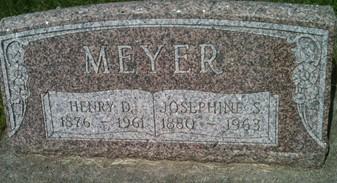 MEYER, HENRY D. - Cedar County, Iowa | HENRY D. MEYER