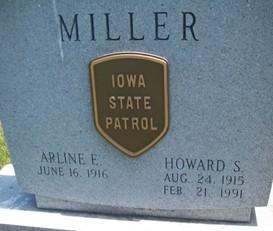 MILLER, HOWARD SYLVESTER - Cedar County, Iowa | HOWARD SYLVESTER MILLER