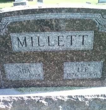 MILLETT, ADA - Cedar County, Iowa | ADA MILLETT