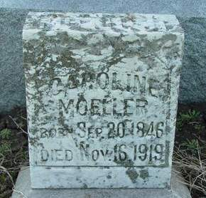 SCHROEDER MOELLER, CAROLINE - Cedar County, Iowa | CAROLINE SCHROEDER MOELLER