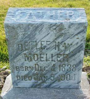 MOELLER, DETLEF H. W. - Cedar County, Iowa | DETLEF H. W. MOELLER
