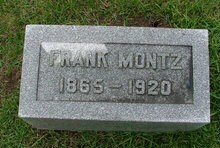 MONTZ, FRANKLIN - Cedar County, Iowa | FRANKLIN MONTZ
